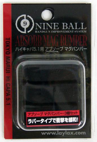 Laylax Nine Ball Absorb Mag Bumper 3pcs for Tokyo Marui Hi-CAPA5.1 587393