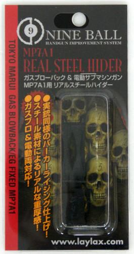 Laylax Nine Ball Tokyo Marui MP7A1 Real Steel Hider