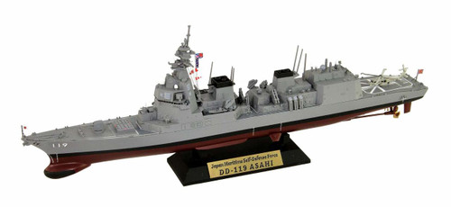Pit-Road J82NH JMSDF Destroyer DD-119 Asahi w/Photo-Etched Parts 1/700 scale kit