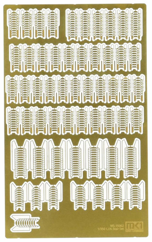 Fujimi MS35002 IJN Stair Set Etching Parts 1/350 Scale