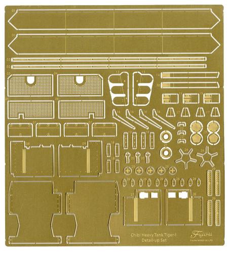 Fujimi TM 116037 Photo-etched Parts Chibi-maru Military Tiger I Tank Non-scale