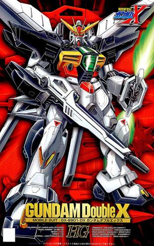 Bandai 550121 GX-9901-DX Gundam Double X HG (Gundam X) 1/100 scale kit