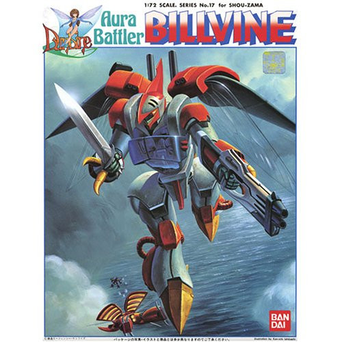 Bandai 390684 Aura Battler Dunbine Billvine 1/72 Scale Kit