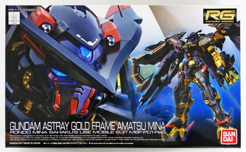 Bandai RG-24 Gundam Astray Gold Frame Amatsu Mina 1/144 Scale Plastic Model Kit