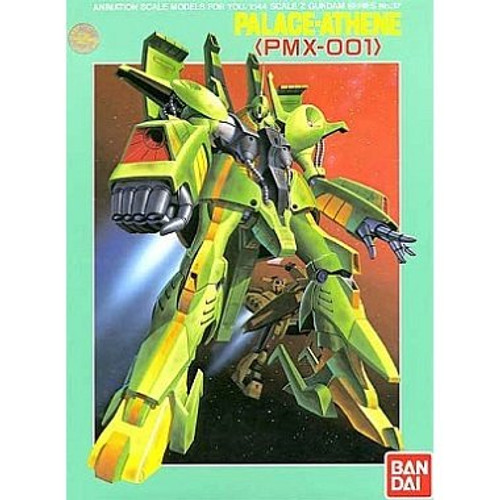 Bandai Z Gundam No.37 PMX-001 Palace Athne 1/144 Scale Kit