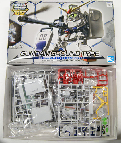 Bandai SD Gundam Cross Silhouette Gundam Ground Type Non-scale Kit