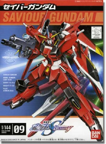 Bandai Seed Destiny 09 Saviour Gundam 1/144 scale kit