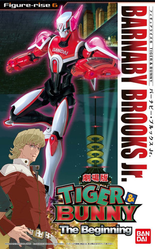 Bandai 785435 Figure-Rise 6 Tiger & Bunny BARNABY BROOKS Jr. non scale kit