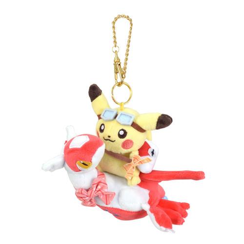 Pokemon Center Original Mascot Pikachu Riding Latias