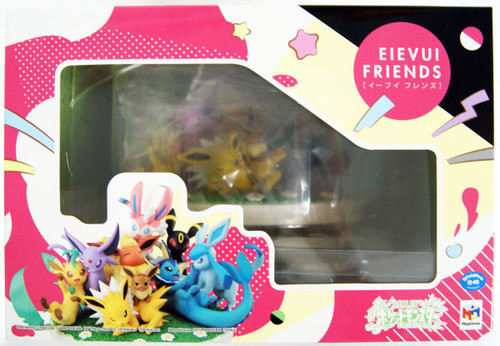 MegaHouse G.E.M. Series Pokemon Eevee Friends Figure