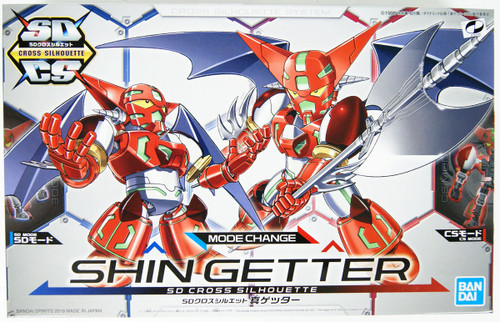 Bandai SD Cross Silhouette Getter Robot Shin Getter Non-scale Kit