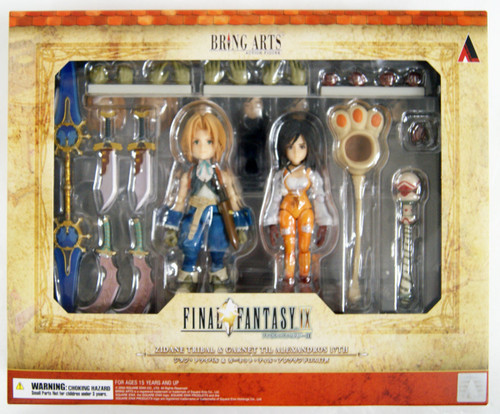 Square Enix Bring Arts Final Fantasy IX Zidane & Garnet Figure