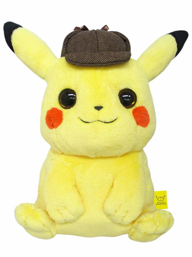 San-ei Mochi-Fuwa Cushion Detective Pikachu