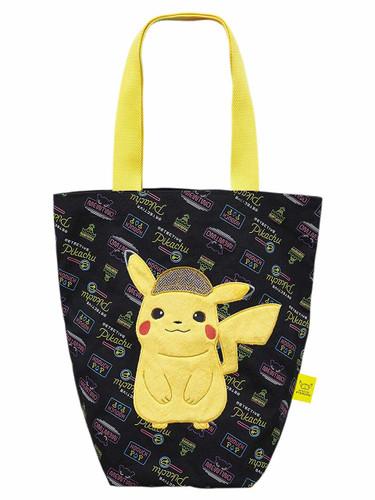 San-ei Stuffed Tote Bag Detective Pikachu