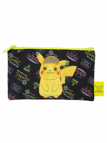 San-ei Stuffed Flat Pouch Detective Pikachu