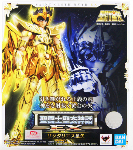 Bandai S.H. Figuarts Saint Cloth Myth EX Sagittarius Seiya (Saint Seiya)