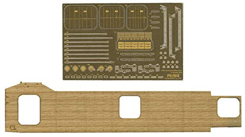 Fujimi TOKU-16 EX3 IJN Aircraft Carrier Soryu Wooden Deck Sticker (w/Ship Name Plate)