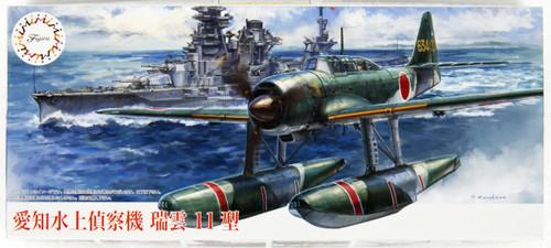 Fujimi C-15 Aichi Reconnaissance Seaplane Zuiun Model 11 1/72 Scale Kit
