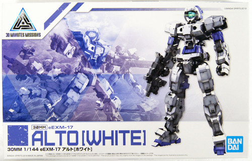 Bandai 30 Minutes Missions eEMX-17 ALTO (White) 1/144 Scale Kit