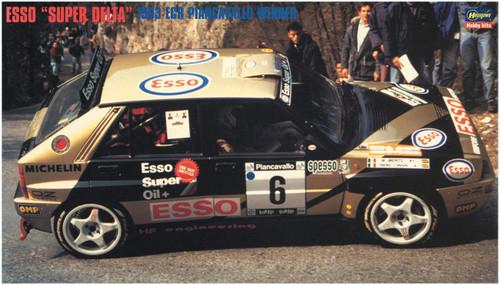 Hasegawa 20402 ESSO Super Delta '93 ECR Piancavallo Winner 1/24 Scale Kit