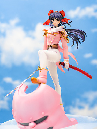 Aquamarine Sakura Shinguji 1/9 Scale Figure (Sakura Wars)
