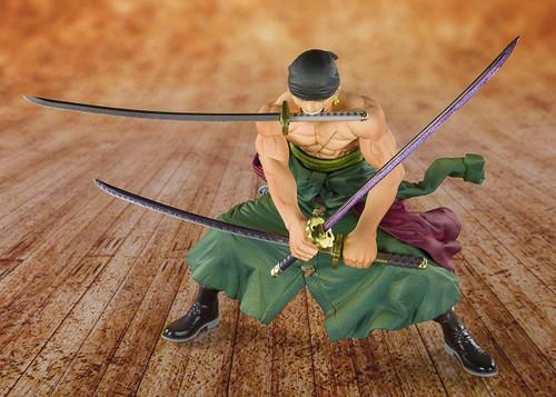 Bandai Figuarts Zero Pirate Hunter Roronoa Zoro Animation 20th Anniversary (ONE PIECE)