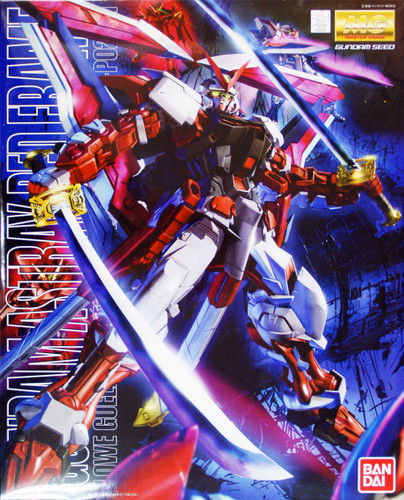 Bandai MG 620477 Gundam MBF-P02 Astray Red Frame 1/100 Scale Kit