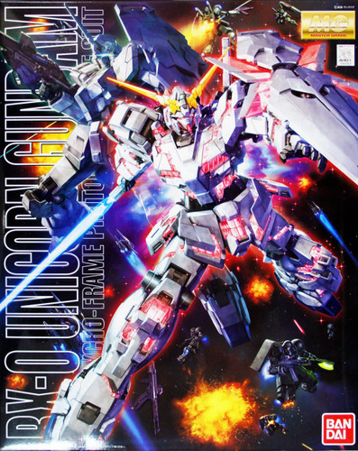 Bandai MG 620538 Gundam Unicorn Gundam 1/100 Scale Kit