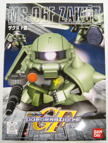 Bandai SD BB Gundam 218 Zaku II Type F Plastic Model Kit