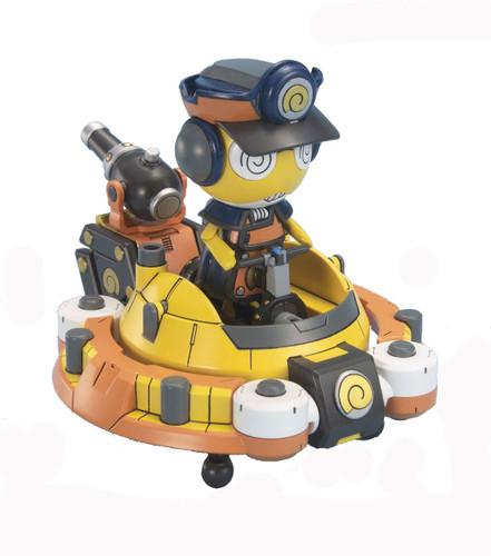 Bandai Keroro Gunso 40 Deep Sea King Kururu & Kuru Arm 1/12 Scale Kit