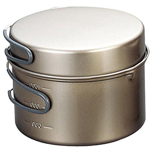 Evernew ECA419 Ceramic Series Titanium Non-Stick Pot DX4