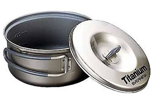 Evernew ECA421 Ceramic Series Titanium Non-Stick Pot #1