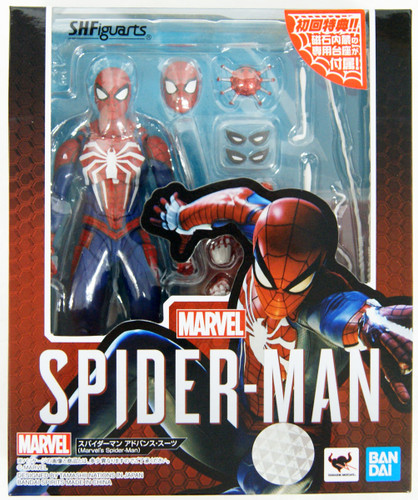Bandai S.H. Figuarts Spider-Man Advanced Suit Figure (Marvel's Spider-Man)