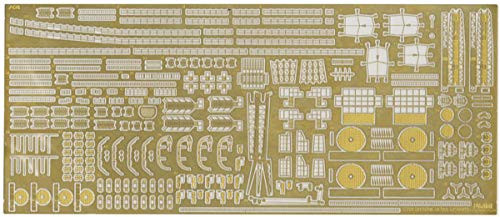 Fujimi IJN Heavy Cruiser Tone Photo-Etched Parts (w/2pcs 25mm Machine Gun)