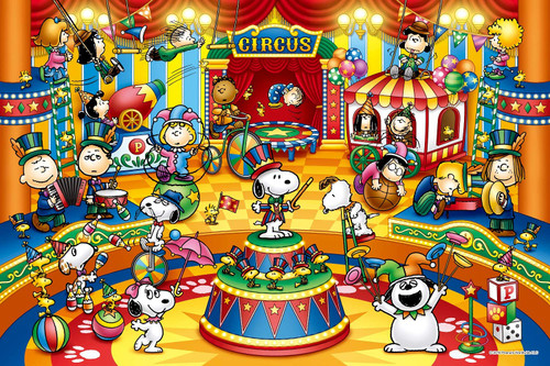 Epoch Jigsaw Puzzle 11-590s Snoopy Peanuts Circus (1000 Pieces)
