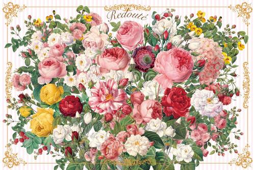 Epoch Jigsaw Puzzle 11-591 Redoute Flower Bouquet (1000 Pieces)