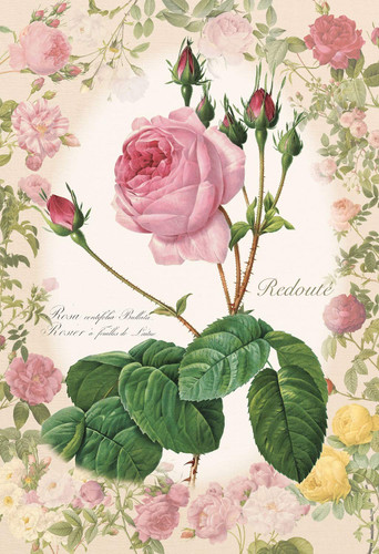 Epoch Jigsaw Puzzle 26-321 Redoute Rose Story Flower (300 Pieces)