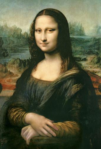 Epoch Jigsaw Puzzle 31-015 Mona Lisa Leonardo da Vinci (1053 S-Pieces)