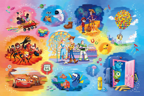 Epoch Jigsaw Puzzle 97-003 Disney Pixar Collection (1000 Pieces)