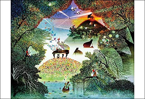 APPLEONE Jigsaw Puzzle 300-341 Seiji Fujishiro Symphony of Light and Shadow (300 Pieces)