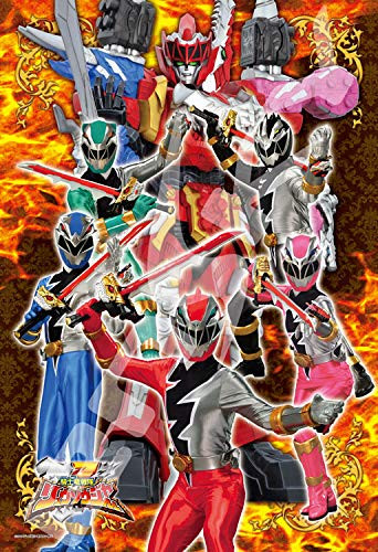 Ensky Jigsaw Puzzle 108-L730 Kishiryu Sentai Ryusoulger In One of Soul! (108 L-Pieces)