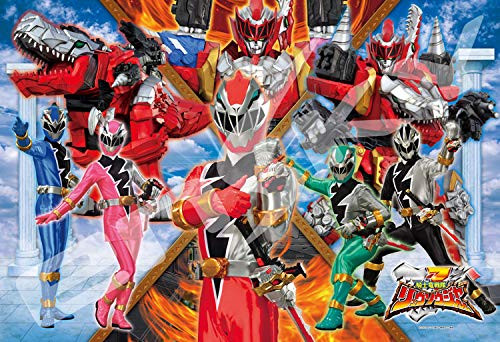 Ensky Jigsaw Puzzle 108-L731 Kishiryu Sentai Ryusoulger Along with the Power (108 L-Pieces)