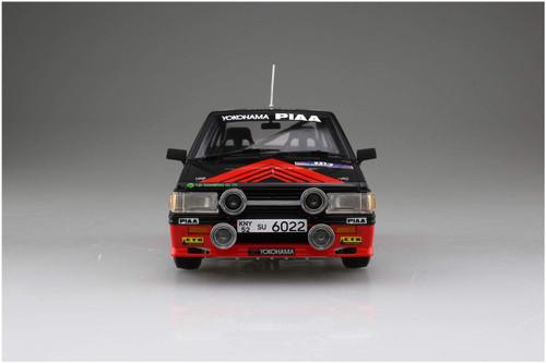 Aoshima 06082 Mitsubishi Lancer Turbo '84 RAC Rally Ver. 1/24 Scale Kit