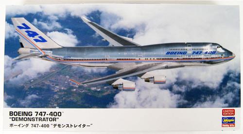 Hasegawa 10832 Boeing 747-400 Demonstrator 1/200 Scale Kit