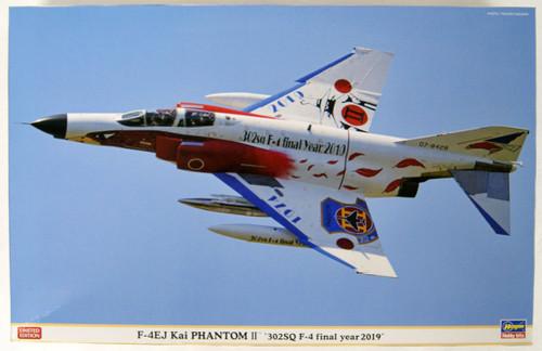 Hasegawa 07475 F-4EJ Kai Super Phantom 302SQ F-4 Final Year 2019 1/48 Scale Kit