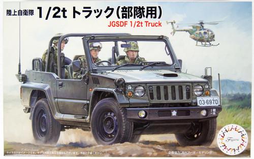 Fujimi 72M-12 JGSDF 1/2t Truck (Troop) 1/72 Scale Kit