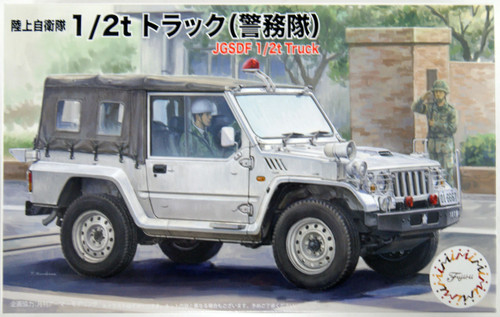 Fujimi JGSDF 1/2t Truck (Military Police Unit) 1/72 Scale Kit