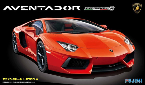 Fujimi RS-89 Lamborghini Aventador LP700-4 1/24 Scale Kit