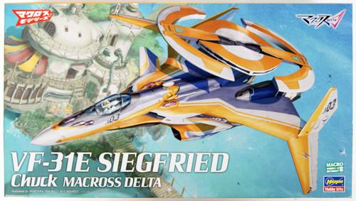 Hasegawa 65849 VF-31E Siegfried Chuck Use Macross Delta 1/72 Scale Kit