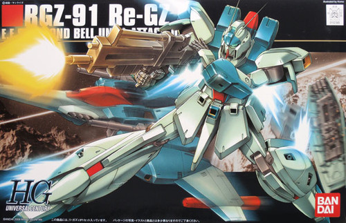 Bandai HGUC 085 Gundam RGZ-91 Re-GZ 1/144 Scale Kit